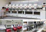 전산화된 운영 및 8개의 헤드 Tajima 자수 기계 아닙니다