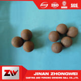 as esferas de moedura de 60mn 20mm forjaram as esferas de aço para o moinho de esfera usado na mineração