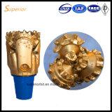 Venda quente 6 bits Tricone de 1/8 de polegada (IADC127) para a água e a perfuração da mineração