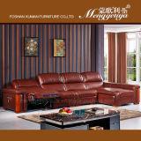 本革のChaiseの革ソファーの電気リクライニングチェアのソファー(626#)