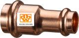 Pulse T-pieza de cobre con salida reducida