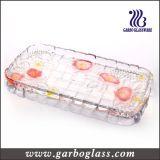 Längliches Geschenk Decoratitive Glasplatte (GB1729MG/PDS)