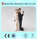 Декоративный экстракласс торта украшения венчания смолаы Figurine пар невесты и Groom