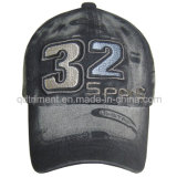 Lavado Discharge Impressão Bordado Twill Sport Baseball Cap (TRB02755)