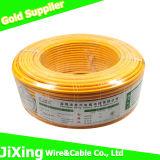 Câble de fil électrique isolé par PVC de cuivre solide à un noyau de conducteur de H07V-U