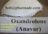 Pharmadeの実験室の実質の品質のステロイドのAnavarの粉99%の高性能液体クロマトグラフィーの光沢がある水晶