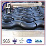 Acero inoxidable estándar ASTM A403 Wp347h de ASME codo de 90 grados