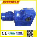 Reductor de velocidad helicoidal del motor eléctrico del engranaje cónico de la serie de Mtj