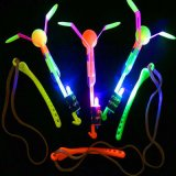 Whistle Spin LED Copters Toy