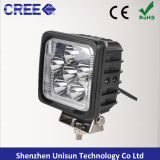 Luzes do trabalho do diodo emissor de luz do carro 4X4 do CREE de Unisun 12V 30W