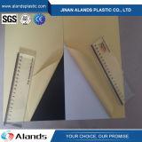 hoja negra del PVC del blanco de 1m m con el pegamento para el álbum de foto
