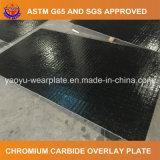 Piatto d'acciaio ricoperto saldatura resistente all'uso