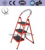 Certificado EN131 acero hogar retráctil Escalera plegable