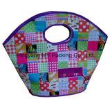 Projeto novo que dobra o saco de compra tecido PP laminado BOPP da promoção