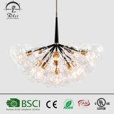 Italienische dekorative Glaskugel-hängende Lampe für Lighting