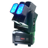 8X10watt 4in1 RGBW LED Dual Axis Moving Heads