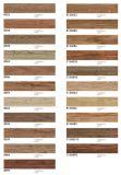 Azulejos de suelo de madera del grano de la decoración del hotel de Foshan