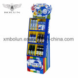 Publicidad de la visualización promocional del soporte para la bebida