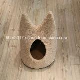 귀여운 형식 디자인 고양이 집 침대 애완 동물 제품 고양이 장난감 가구