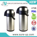 Koffie Airpot van de Fles van het Roestvrij staal van de Muur van het Ontwerp van de bevordering de Dubbele Vacuüm (ASUC)