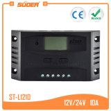 Controlemechanisme van het Systeem van de ZonneMacht van Suoer 12V 24V 10A het Zonne Intelligente (st-L1210)