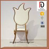 Большинств популярный металл PU задней части самомоднейшей конструкции высоко обедая стул