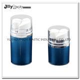 Bottiglia di plastica cosmetica senz'aria vuota del tubo del doppio della pompa del San