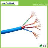 Câble solide de réseau de câble LAN de Cat5e UTP