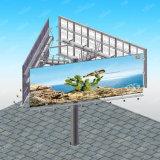 전람과 장비 옥외 발광 다이오드 표시 게시판 광고하기