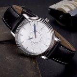 Blaue Entwurfs-Quarz-Leder-Uhr Soem-Firmenzeichen-Geschäftsmann-Uhr des Zeiger-H305 wasserdicht