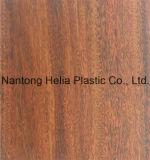 Folha de tampa decorativa da mobília da grão de madeira do PVC