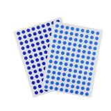 Farbenreicher Drucken-runder Papieraufkleber-wasserdichter anhaftender Kreis-Aufkleber-Kennsatz