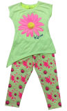 Цветок Children Clothes в Kids Suit с Print в 70% Pant SGS-105