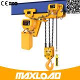 Grua Chain elétrica de 7.5 toneladas com tipo da Baixo-Altura livre (HHBB7.5-03SL)