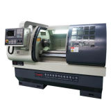 Máquina horizontal Ck6136A-2 do torno da estaca do metal do CNC do torno automático do CNC