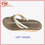 Sandalias atractivas de la playa del verano de los fracasos de tirón de las señoras para las mujeres
