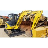 Excavador usado de KOMATSU PC55mr-2, excavador usado PC55mr-2
