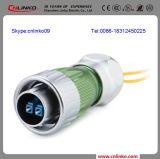 電気ケーブルの光ファイバケーブルの/Opticのファイバーの電源コネクタ