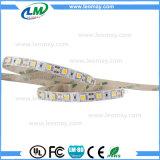 Alta luz de tira flexible blanca fresca del lumen SMD5050 LED con la UL del CE