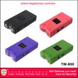 Kleine Taschenlampe Taser mit leistungsfähigem Elektroschock