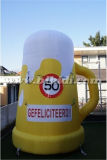 Large esterno Inflatable Bottle per Event, Advertizing Giant Olanda Cartoons da vendere