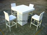 때려 눕힘 옥외 클럽 다방 테이블은 안락 의자 (YT131)로 놓았다