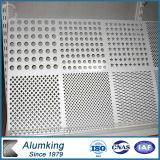 Hartes Anodized Perforated Aluminium Sheet für Pop Ceiling
