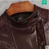 新しい女性の本物のヒツジの革のジャケット