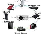 高度HD小型3D LCDプロジェクター