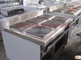 Piastra riscaldante 6 elettrici di Eh897A con il forno elettrico (quadrato)