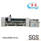 De Scherpende en Oppoetsende Machine van het horizontale CNC Glas voor de Gevormde Bovenkant van de Lijst van het Glas