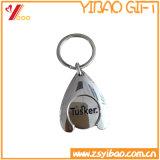 Het Muntstuk Keychain van het karretje met de Houder van de Legering van het Zink (yb-ly-k-14)