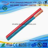 전원 호주 표준 중국은 높은 품질의 병렬 트윈 유연한 케이블 배터리 케이블 제조