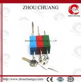 lucchetto lungo di sicurezza dell'anello di trazione di 76mm, resistenza a temperatura elevata